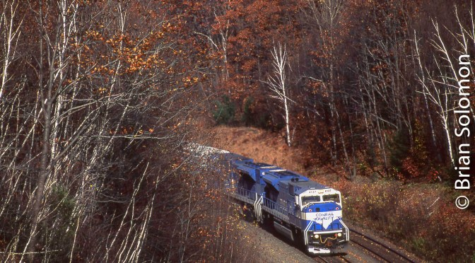On this Day in 1996—Conrail SD80MACs Work the Boston & Albany