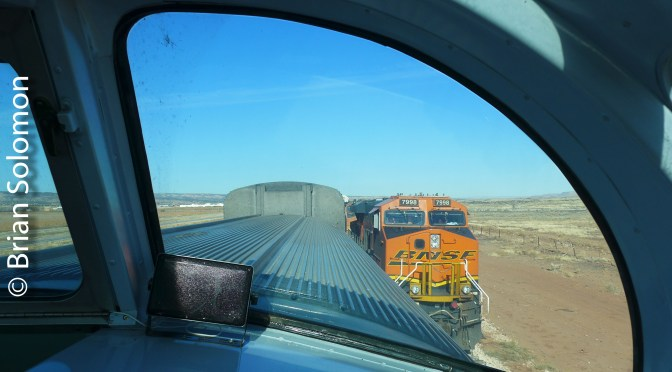 New Mexico Revisited: Soaking in BNSF's Transcon on the Move.