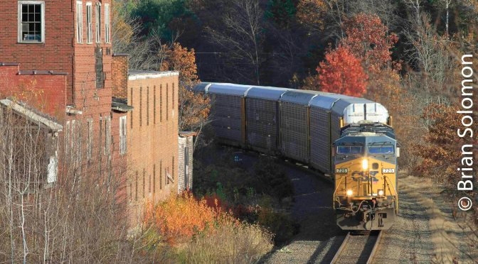 CSX on this day Five Years Ago-November 2, 2013.