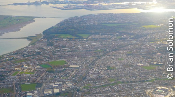 Howth Junction from the Air.