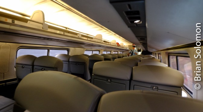 Posting Live from Amtrak Train 55!
