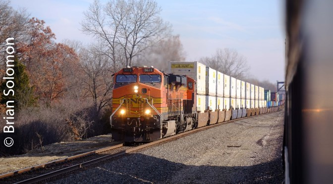BNSF on the move in Missouri.
