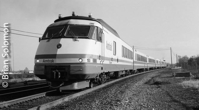 Amtrak Turbo Train—Rochester.