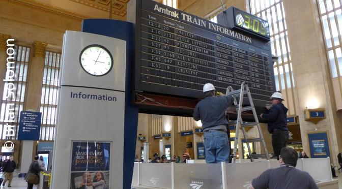 Amtrak—30thStreet Station Philadelphia: Seven Lumix Views.