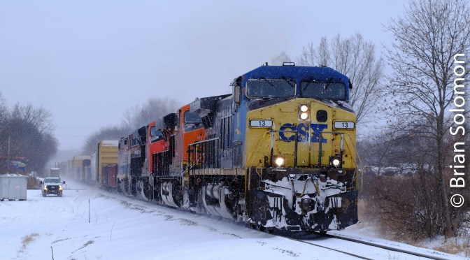 Freight at Duplainville—Part 1.