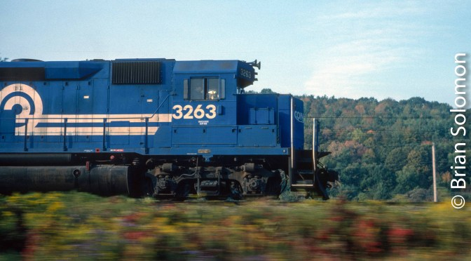 Conrail Pacing View.