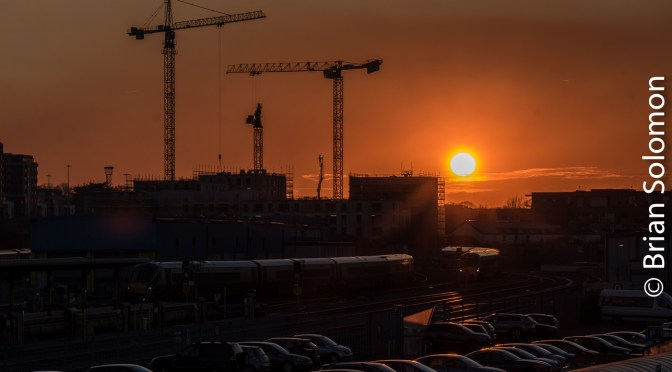 Heuston Sunset—February 2019.
