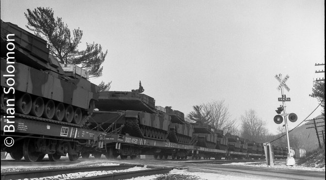 Tanks on the old Erie Railroad; Canisteo Valley New York 1987.