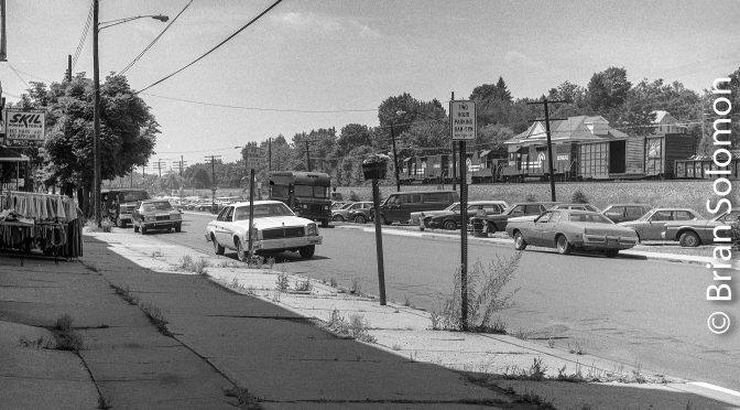 Conrail 1980s Flashback: Street-scene Cresson, Pennsylvania.