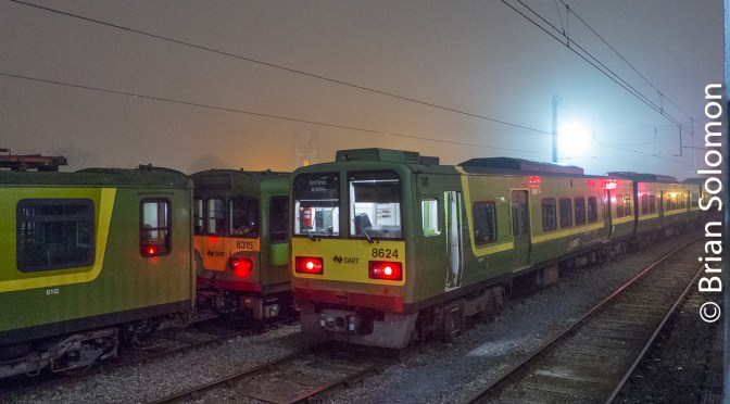 Electric Night Photos: ISO 80 versus ISO800