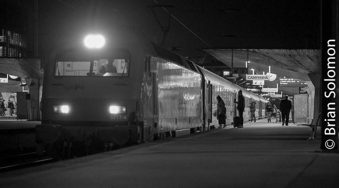 Porto Campanha at Night—four photos.