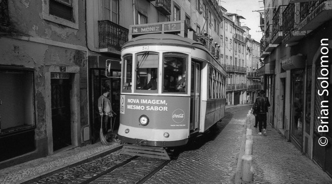Lisbon: narrow streets and trams—Part 1.