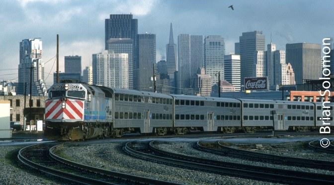 Classic Chrome: Cal-Train 7thStreet San Francisco.