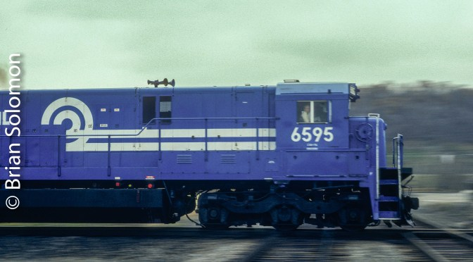 Conrail at Olean—November 6, 1988.