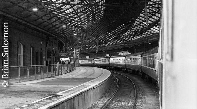 Cork's Kent Station: Three Views on Tri-X.