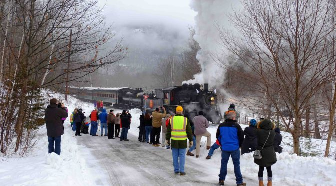 Steam in the Snow!