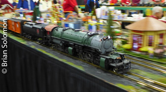 20 NEW photos of the BIG Show—Friends and Trains.