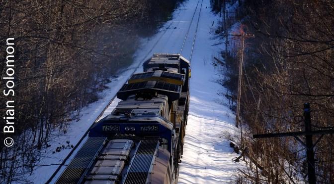Luck, Wisdom Way, and an Empty Grain Train!