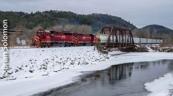 Vermont Rail System—East Barnet.