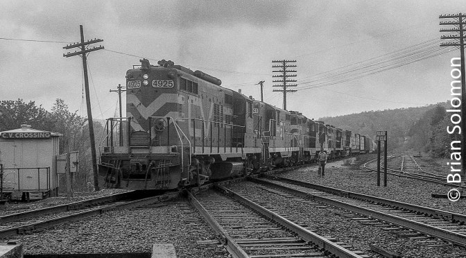 Central Vermont at Palmer—May 17, 1985.