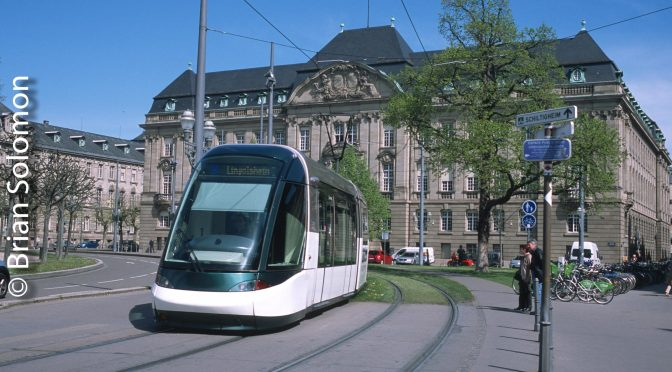 Eurotram Strasbourg April 2016.