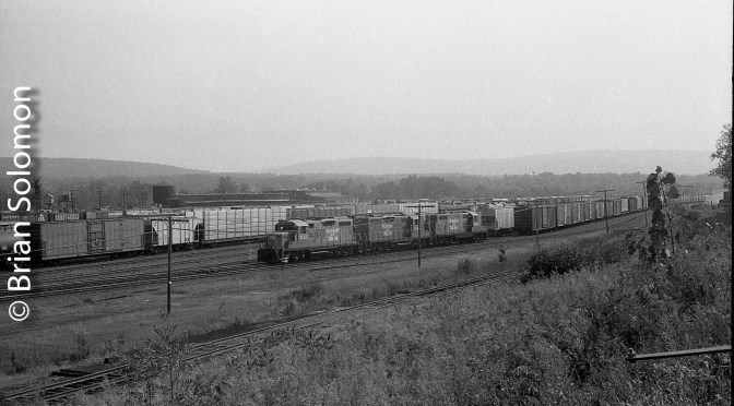 East Deerfield Yard, September 30, 1984—Two photos.