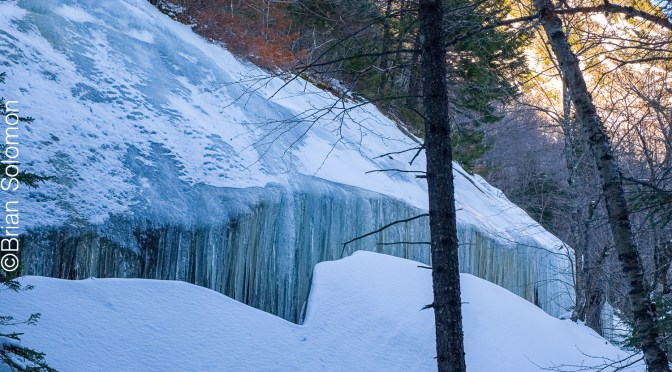 Ice at Grafton Notch