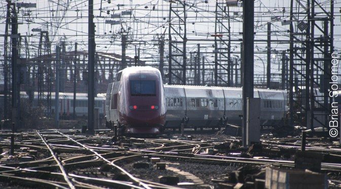 Thalys Departing Brussels Midi