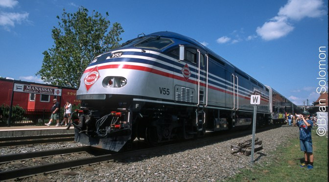 VRE at Manassas, Virginia