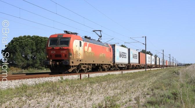 PORTUGUESE CONTAINER TRAIN—APRIL 2014