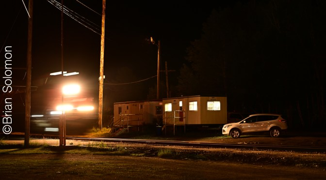 Nocturnal Moves at Jackman, Maine