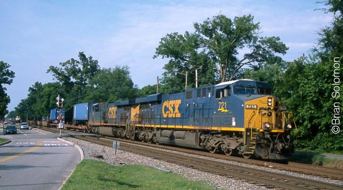 CSX Q034 at Ashland, Virginia
