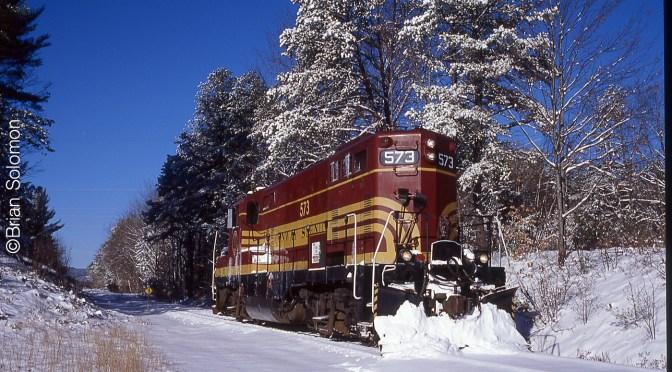 Frosty Scene on the Redstone Branch