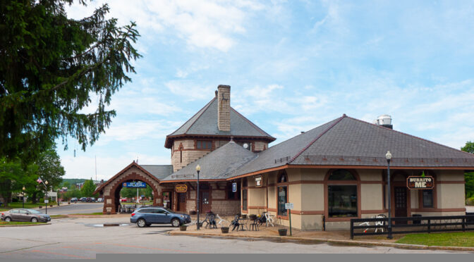 Boston & Maine Station at Laconia, NH