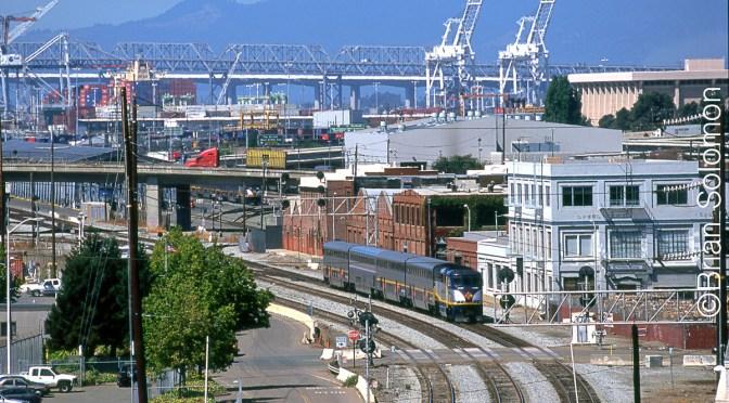 Amtrak at Oakland