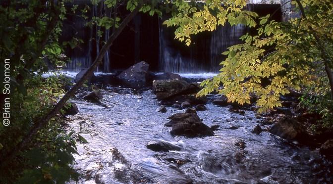 Chocorua Dam on Ektachrome