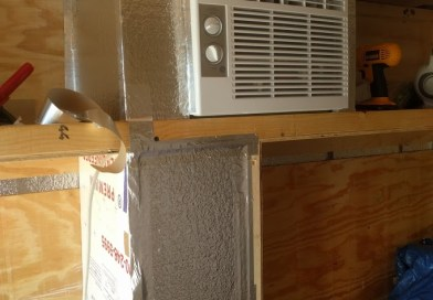 Cargo Trailer Conversion – AC Install