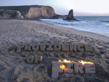 The Beach, The Beach, The Beach is on Providence of Fire