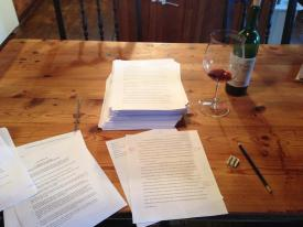 It's a Writer's Life: More Wine, Please