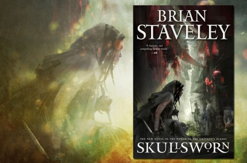 SKULLSWORN by Brian Staveley