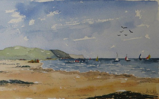 Sailing on the Antrim Coast