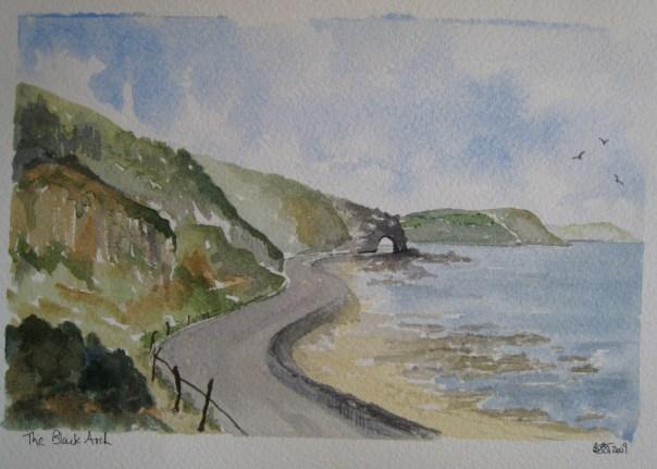 The Black Arch, near Drains Bay