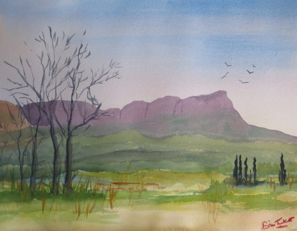Towards the Entabeni mountains