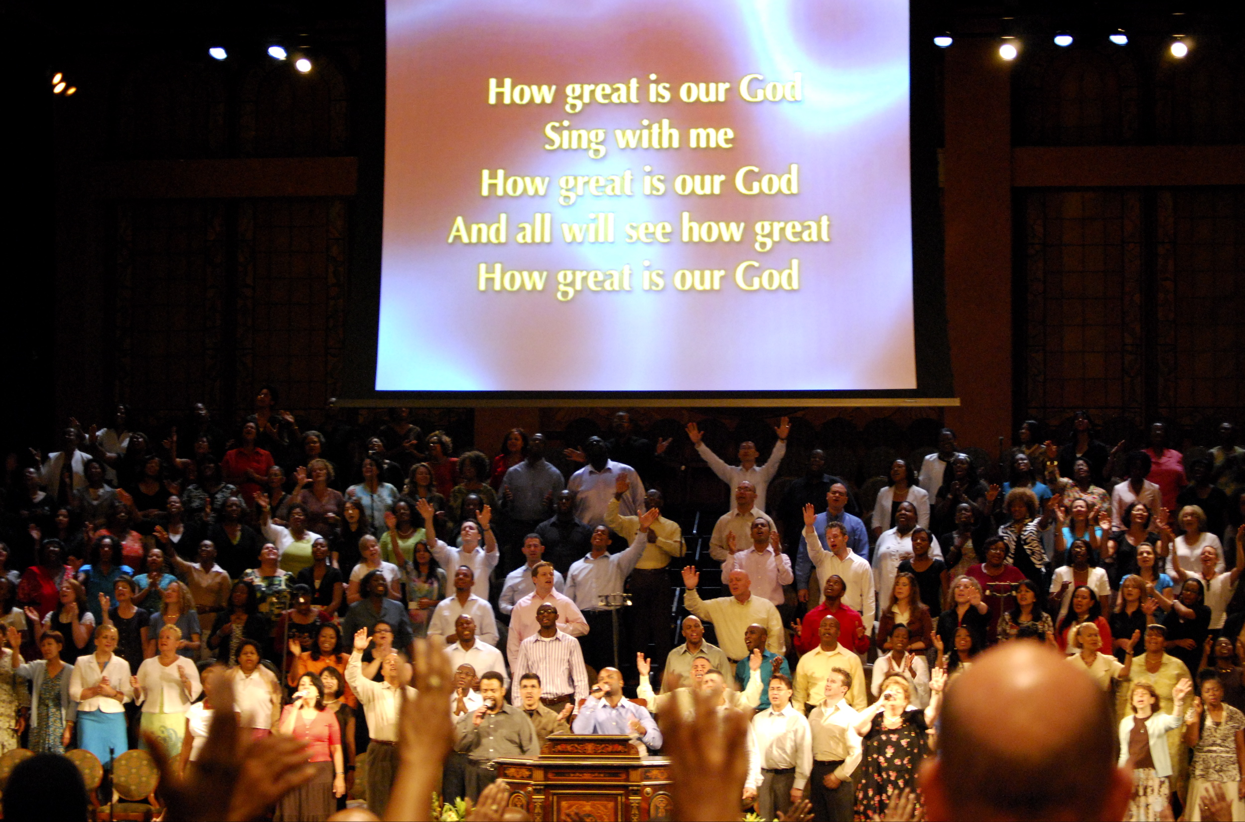 """""""How Great Is Our God"""" At The Brooklyn Tabernacle"""