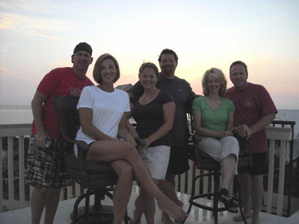 Steve & Dawn Adams, Tony & Misty Javorka, Kim and me, Captiva Island, FL