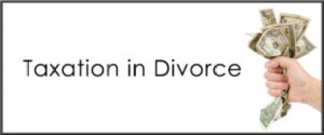 Divorce Taxation Issues