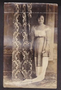 Anding, my great-grandmother (dad's mom's mother), date unknown; early 1900s possibly.