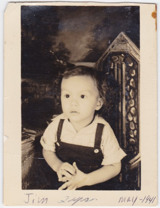 My father, James Rice, 1941, age 2