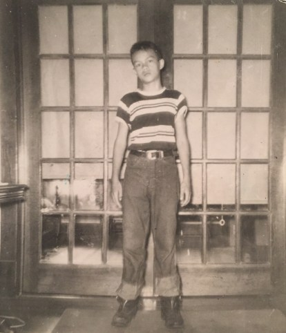 My Dad, early 1950s in Manhattan, Kansas