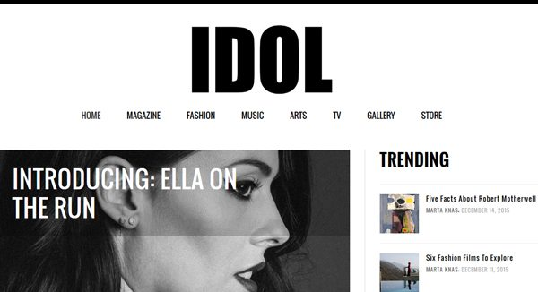 Idol - Magazines that accept submissions